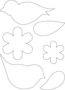 Free Flower Templates To Print by Printable Flower Templates Cliparts Co