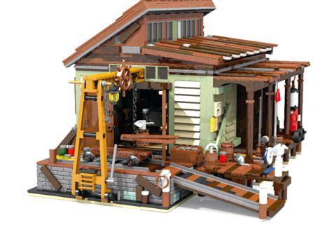 Lego Wars Boat lego ideas boat repair shop