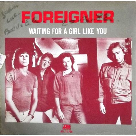 film foreigner waiting for a girl like you waiting for a girl like you pochette poster von