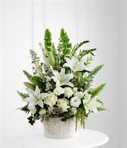 sympathy plants sympathy flower basket for funeral services at ollie s