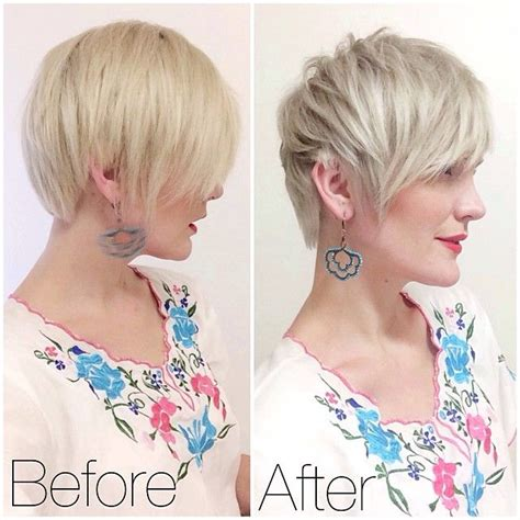 whippy cake haircut before and after my trip to hair do salon pixie