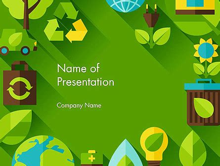 design for environment guidelines ppt green sustainability powerpoint template backgrounds