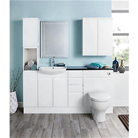 Wickes Bathroom Furniture Uk Hertford Fitted Bathroom Furniture Wickes Co Uk