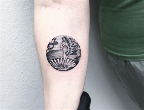 mini tattoo bored panda 14 classical art inspired tattoos you never knew you