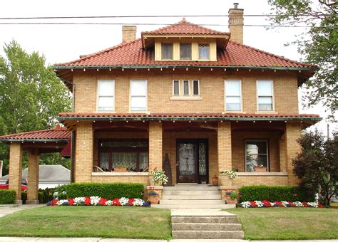 American Foursquare House Plans file american foursquare home marysville jpg wikimedia
