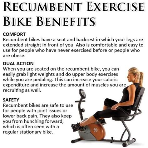8 Benefits Of A Bike by Recumbent Exercise Bike Benefits Bicycle For