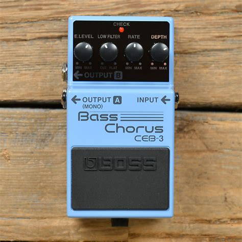 Efek Bass Chorus Ceb 3 Ceb 3 Bass Chorus Used Chicago Exchange Reverb