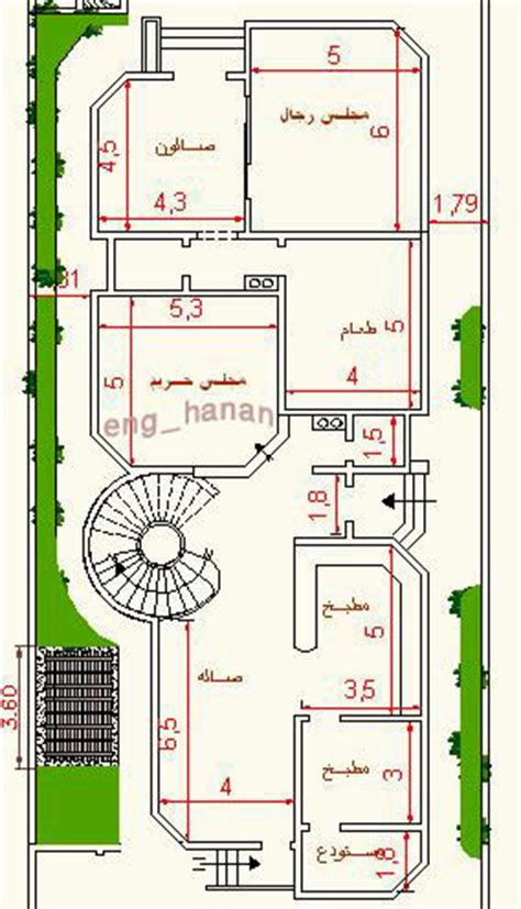 awesome arabic house plans details