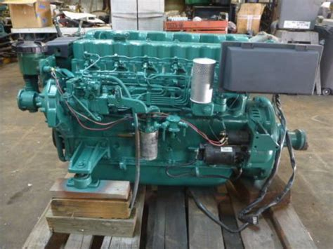 purchase volvo penta aqd  marine diesel engine stern drive rated  hp motorcycle  pompano