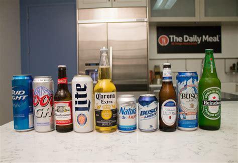 most popular light beer ranking america s 10 best selling beers what tastes best