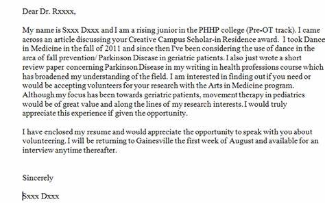 Sample Cover Letter For Practicum - Portfolio: Sample Logs from ...