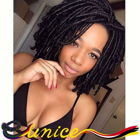 aliexpress buy synthetic dread locs burgundy hanava