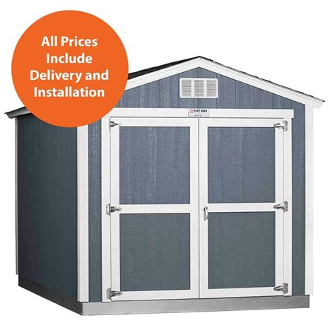 Tough Shed Home Depot by Tuff Shed Installed Tahoe 8 Ft X 12 Ft X 8 Ft 6 In