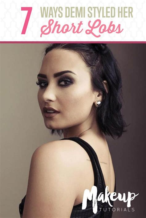 7 Hair Looks by Hairstyles For Hair 7 Times Demi Lovato Nailed
