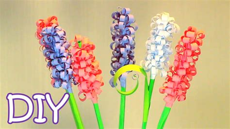 How To Make A Flower Out Of Notebook Paper - diy curly paper flowers how to make swirly paper