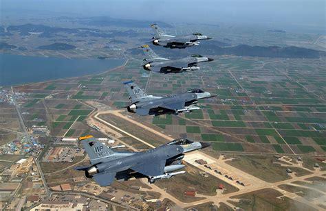 us air bases in korea map kunsan air base