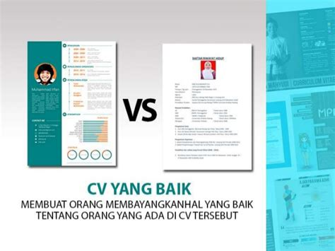 layout membuat cv tips membuat curriculum vitae unik menarik how to