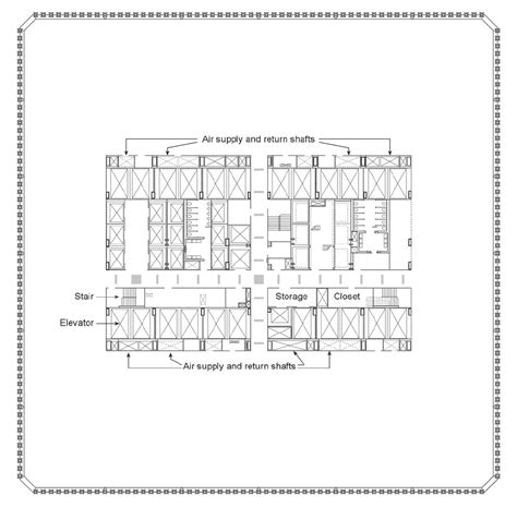 world trade center floor plan gallery of ad classics world trade center minoru