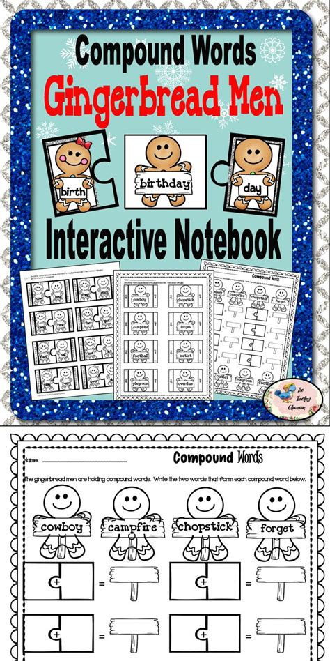 christmas compound words worksheet best 25 compound word activities ideas on pinterest