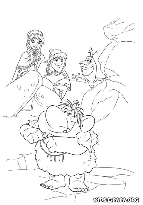 sven pages coloring pages