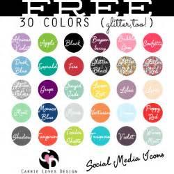 social media colors suburbs new social media buttons finally
