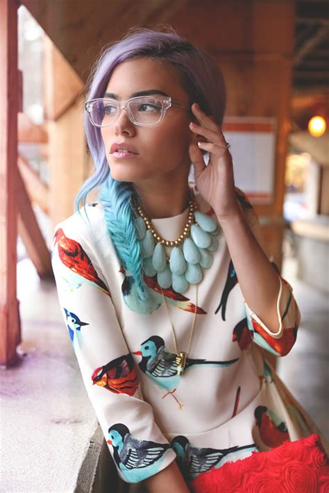 transparently trendy the clear glasses fashion blogger xander vintage ft clear derek cardigan