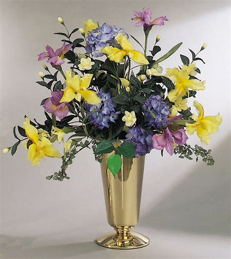 Flowers In Vases by Sacco Church Metalware
