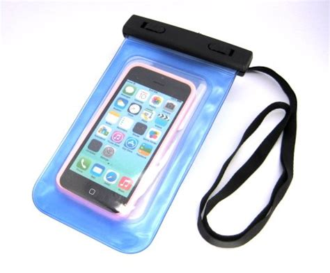 Waterproof Bag For Iphone Smartphone Up To 57 Inch Y Berkualitas cybertech 20 ft waterproof pouch bag cover for apple iphone 5