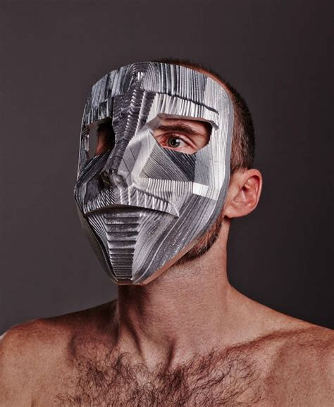 Vire Mask By Benny Original White create design awards photography section winner quot masked intentions tomasz machnik