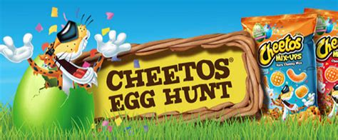 Hunt Sweepstakes - cheetos easter egg hunt sweepstakes