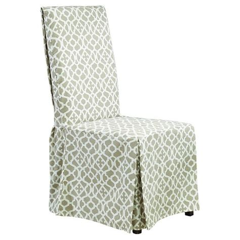 dining chair slipcovers target sure fit iron gate long dining room chair slipcover target