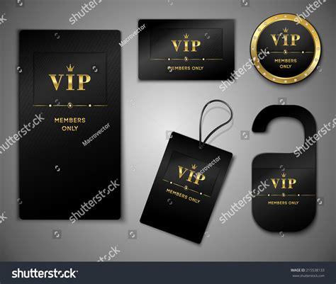 vip members only premium platinum elegant cards black