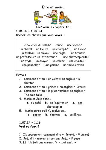 up film teaching resources french teaching resources dvd film worksheet school