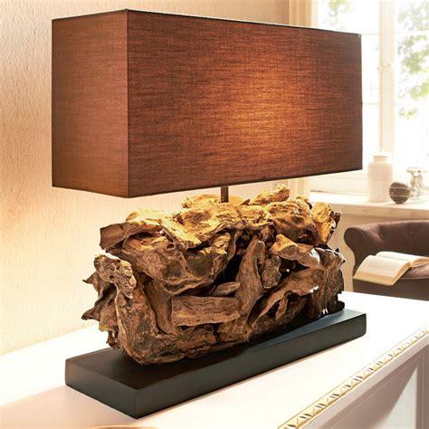 tischleuchten modern design tischleuchte tischle aus holz und metall my