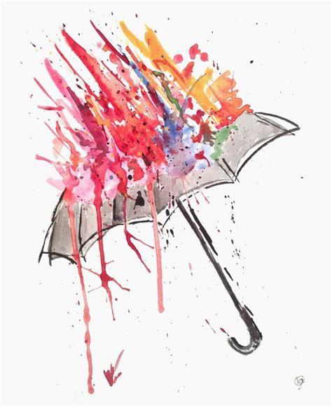watercolor tattoo umbrella 15 watercolor umbrella tattoos
