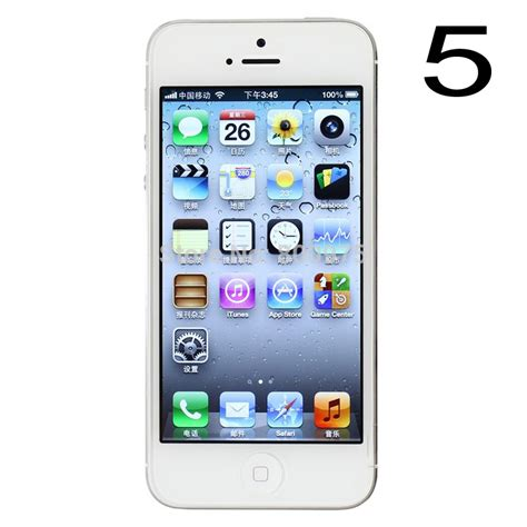 3 3g Wifi 32gb original apple iphone 5 mobile phone 16gb 32gb 64gb unlocked cellphones wifi 3g used ios 8 0 in