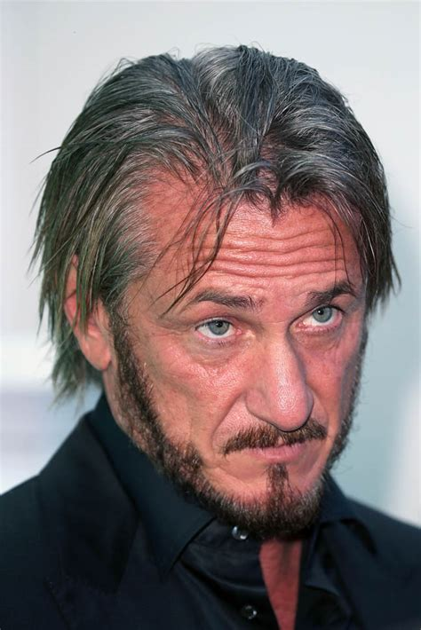 sean penn hairstyles sean penn meets with french minister of ecology