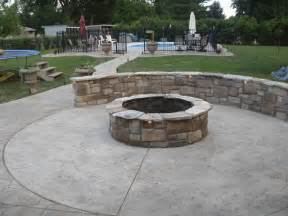 Patios With Fire Pits by Warm Up This Fall And Winter With A Custom Concrete Fire