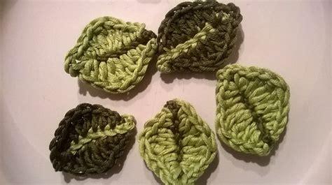 yarn leaf pattern 20 free crochet leaf patterns for every season