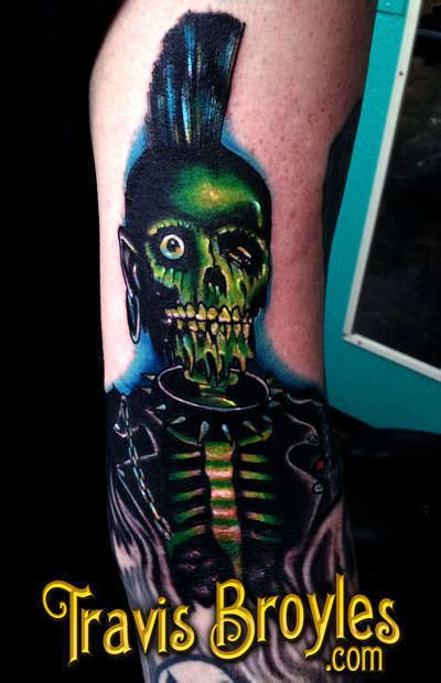 travisbroyles return of the living dead tattoo darrow