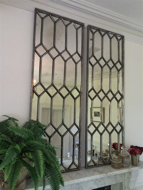 Window Mirrors Decorative by Decorative Polished Cast Iron Window Mirror Panels
