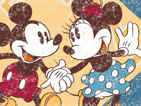 wallpaper mickey classic mickey and minnie wallpapers wallpaper cave