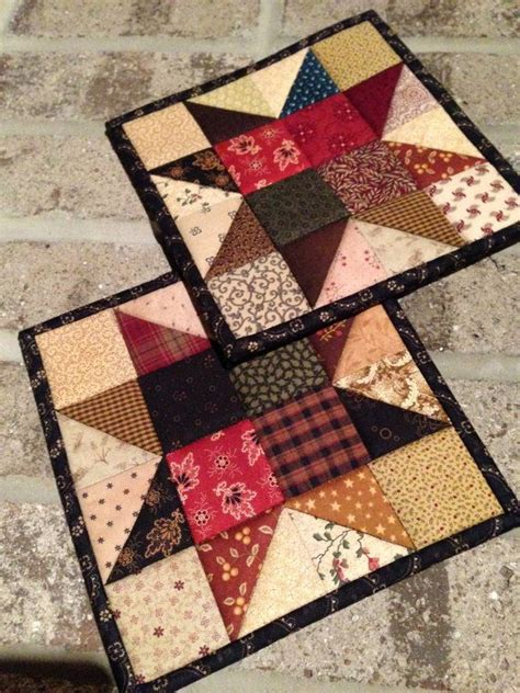 Patchwork Potholder Pattern - 17 best images about quilted pot and mug holders on