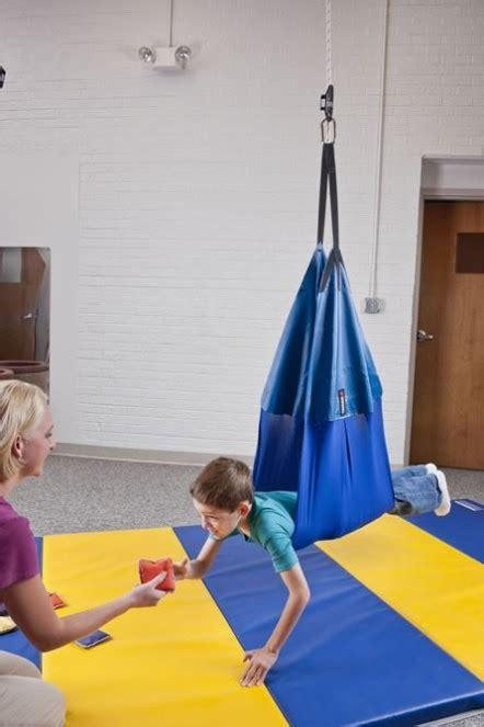 therapy net swing vestibular therapeutic swings balance therapy indoor