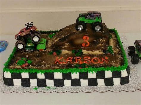 Jam Blaz Grey grave digger truck cake cake ideas