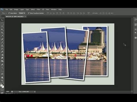 tutorial photoshop frame create a multi frame photo effect in adobe photoshop al