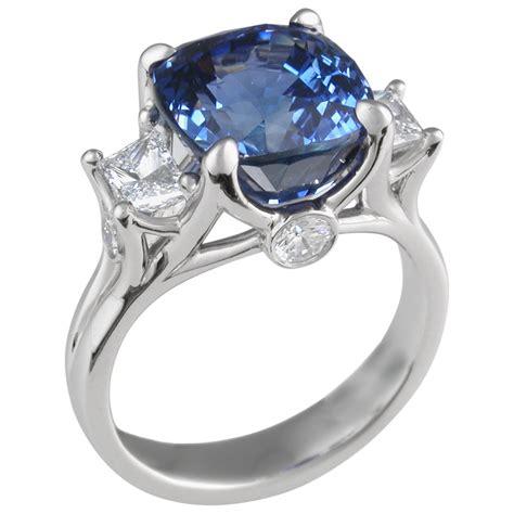 blue colored engagement rings hd unique engagement