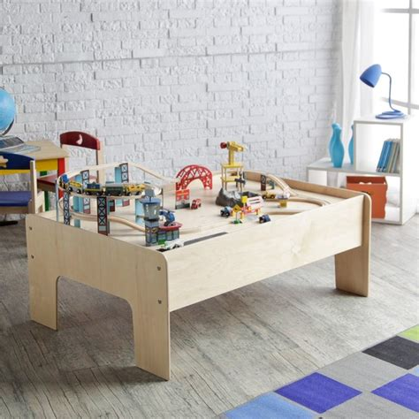 baby play table wood birch wood modern table contemporary
