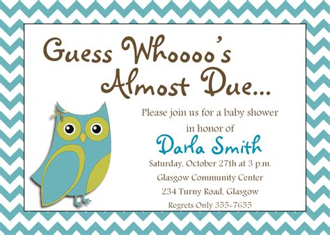 invitation template for baby shower free baby boy shower invitation templates theruntime
