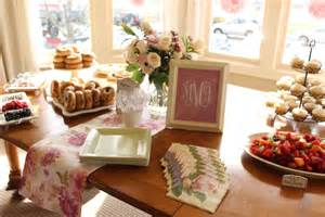 a blush bridal shower brunch